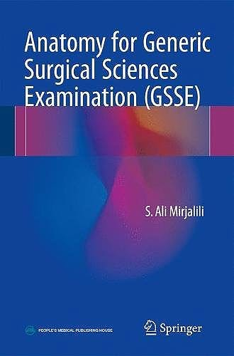 Portada del libro 9789811038822 Anatomy for Generic Surgical Sciences Examination (GSSE)