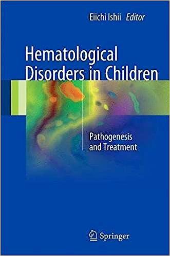 Portada del libro 9789811038853 Hematological Disorders in Children. Pathogenesis and Treatment
