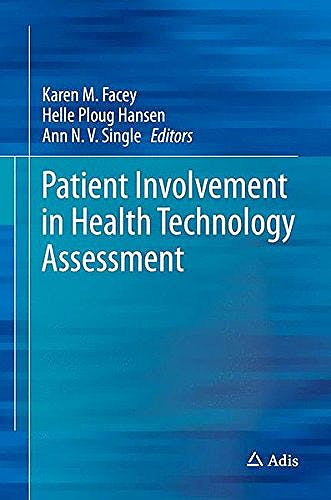Portada del libro 9789811040672 Patient Involvement in Health Technology Assessment