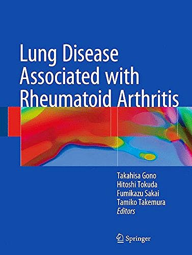 Portada del libro 9789811067495 Lung Disease Associated with Rheumatoid Arthritis