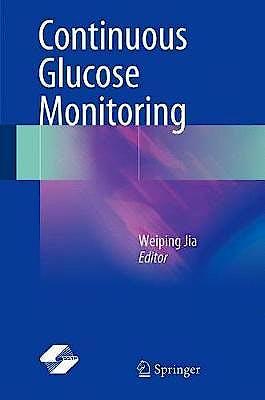 Portada del libro 9789811070730 Continuous Glucose Monitoring