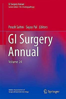 Portada del libro 9789811301605 GI Surgery Annual, Vol. 24