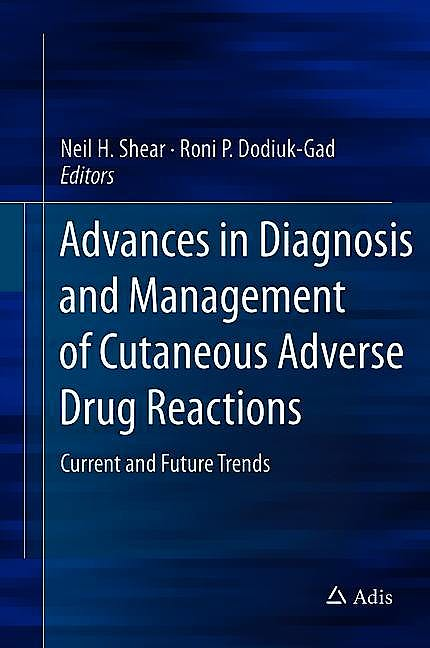 Portada del libro 9789811314889 Advances in Diagnosis and Management of Cutaneous Adverse Drug Reactions. Current and Future Trends
