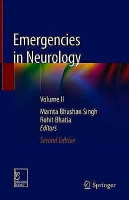 Portada del libro 9789811373794 Emergencies in Neurology, Vol. II