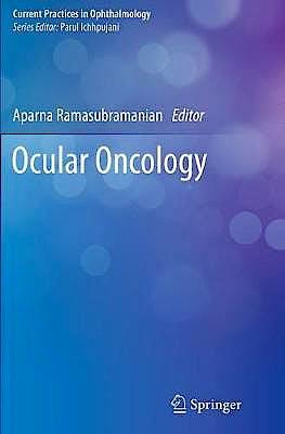 Portada del libro 9789811375408 Ocular Oncology