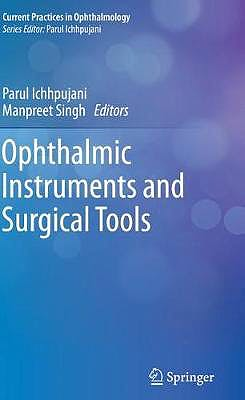 Portada del libro 9789811376757 Ophthalmic Instruments and Surgical Tools