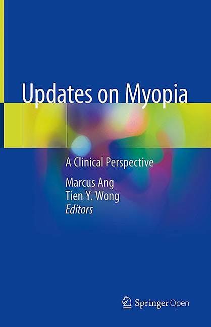 Portada del libro 9789811384905 Updates on Myopia. A Clinical Perspective