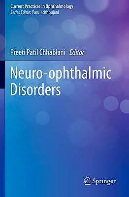 Portada del libro 9789811385247 Neuro-Ophthalmic Disorders (Softcover)
