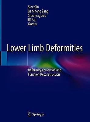 Portada del libro 9789811396038 Lower Limb Deformities. Deformity Correction and Function Reconstruction