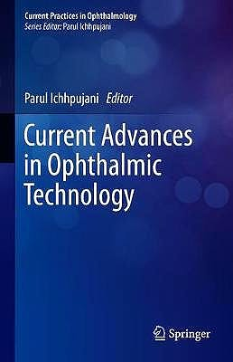 Portada del libro 9789811397943 Current Advances in Ophthalmic Technology