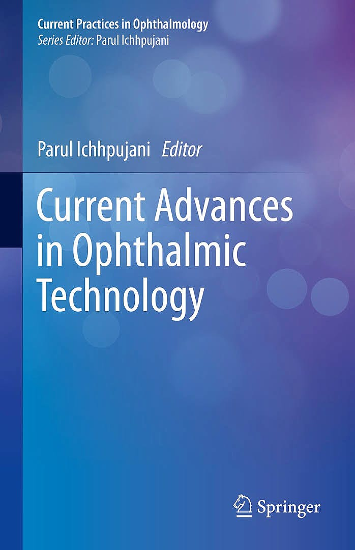 Portada del libro 9789811397974 Current Advances in Ophthalmic Technology