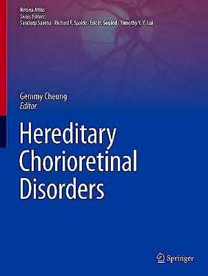 Portada del libro 9789811504136 Hereditary Chorioretinal Disorders (Retina Atlas)