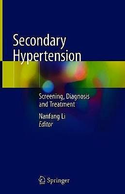 Portada del libro 9789811505904 Secondary Hypertension. Screening, Diagnosis and Treatment