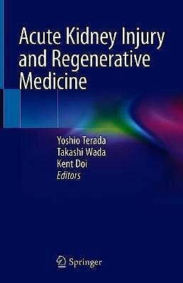 Portada del libro 9789811511073 Acute Kidney Injury and Regenerative Medicine