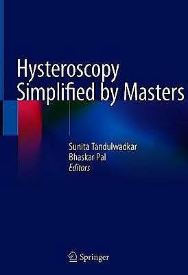 Portada del libro 9789811525049 Hysteroscopy Simplified by Masters