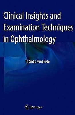 Portada del libro 9789811528897 Clinical Insights and Examination Techniques in Ophthalmology