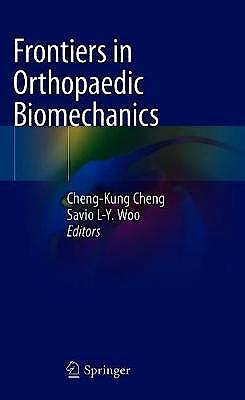 Portada del libro 9789811531583 Frontiers in Orthopaedic Biomechanics