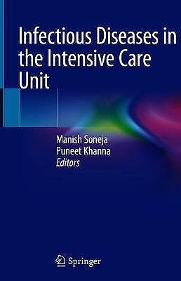 Portada del libro 9789811540387 Infectious Diseases in the Intensive Care Unit