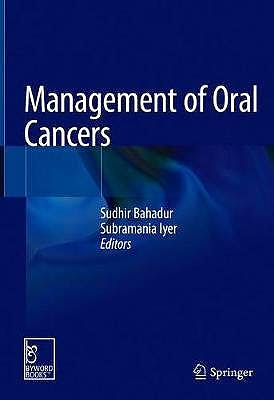 Portada del libro 9789811564987 Management of Oral Cancers