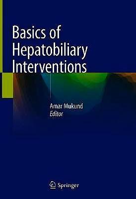 Portada del libro 9789811568558 Basics of Hepatobiliary Interventions