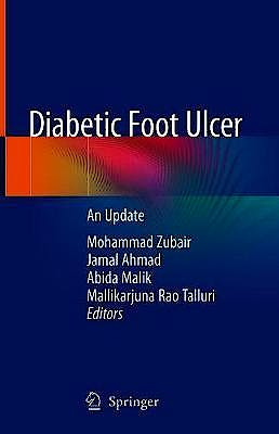 Portada del libro 9789811576386 Diabetic Foot Ulcer. An Update