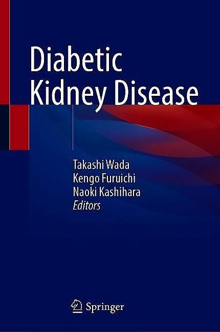 Portada del libro 9789811593000 Diabetic Kidney Disease