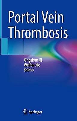 Portada del libro 9789813365377 Portal Vein Thrombosis