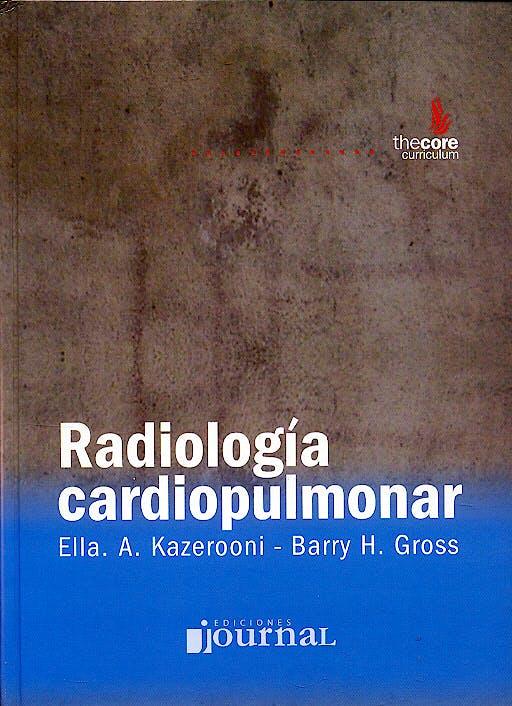 Portada del libro 9789871259045 Radiología Cardiopulmonar