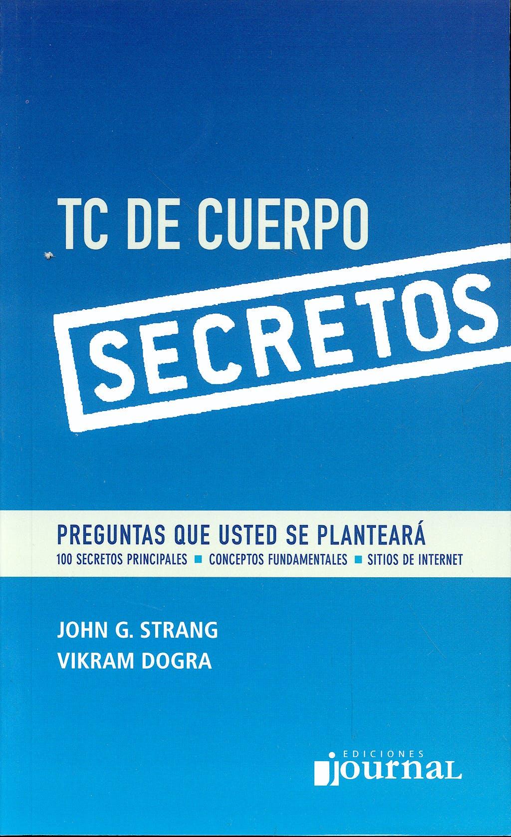 Portada del libro 9789871259243 TC de Cuerpo. Secretos
