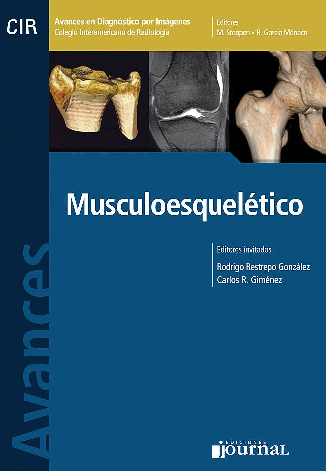 Portada del libro 9789871259335 Avances en Diagnóstico por Imágenes 3: Musculoesquelético (CIR, Colegio Interamericano de Radiología)