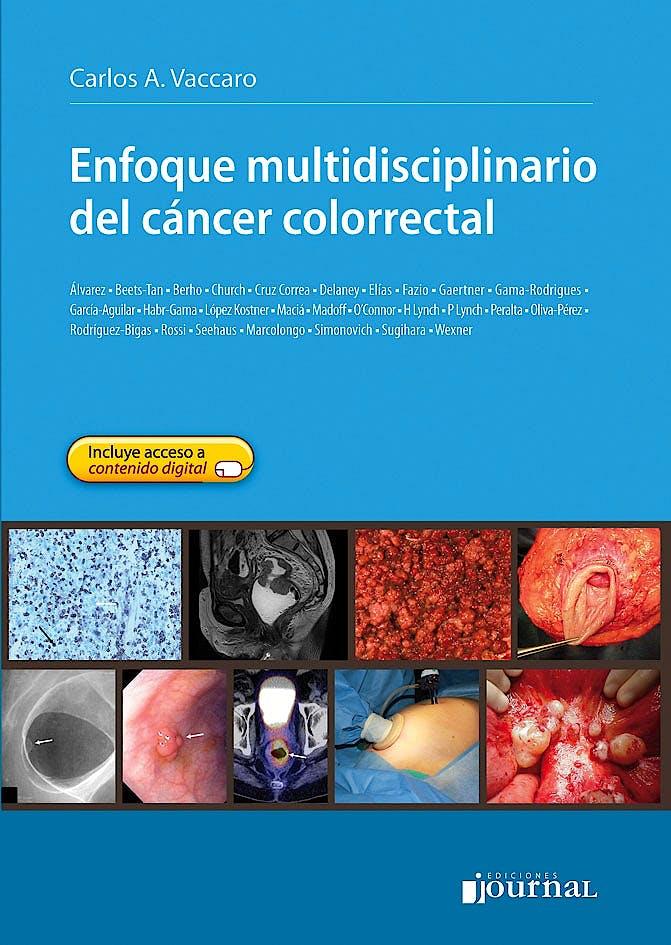 Portada del libro 9789871259922 Enfoque Multidisciplinario del Cáncer Colorrectal