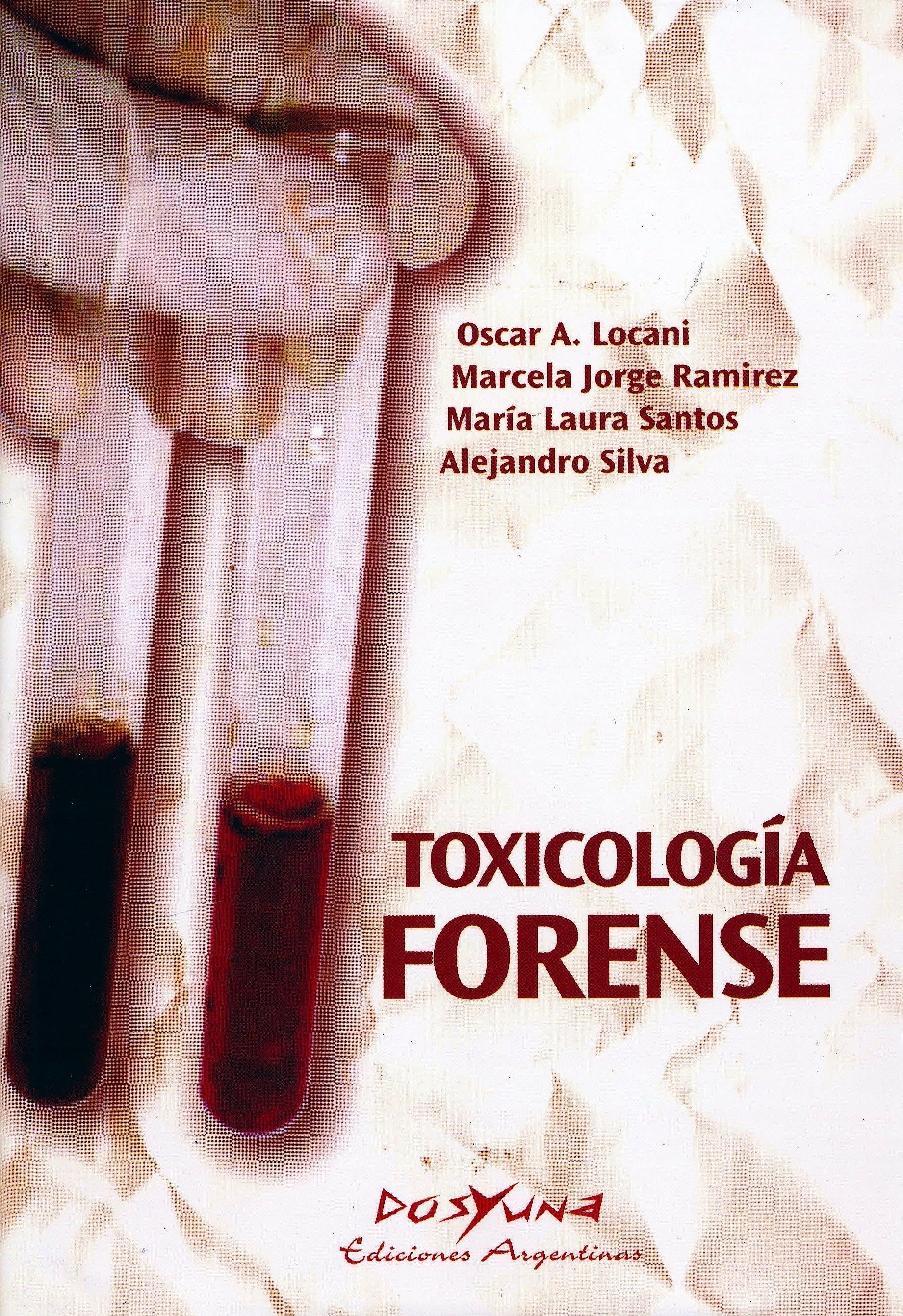 Portada del libro 9789871573011 Toxicología Forense