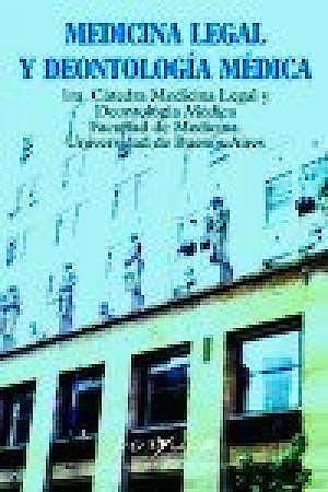 Portada del libro 9789871573059 Medicina Legal y Deontología Médica