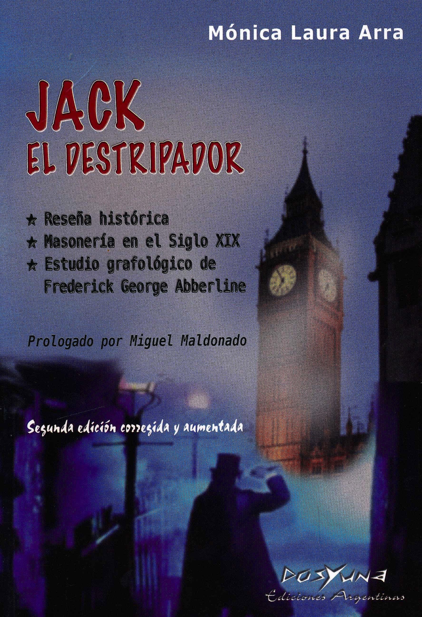 Portada del libro 9789871573202 Jack el Destripador