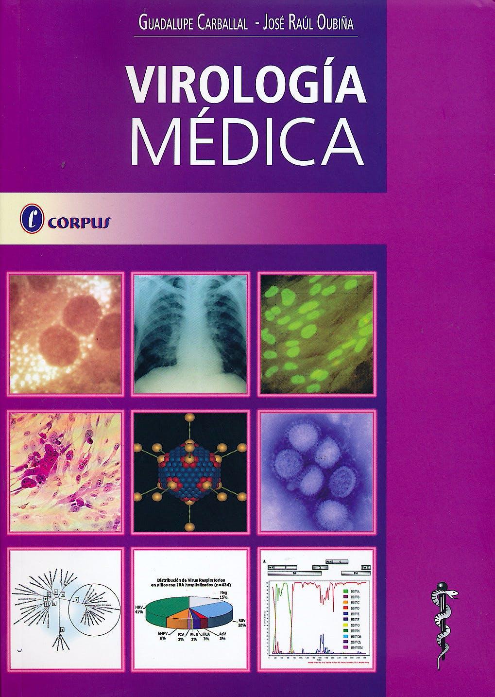 Portada del libro 9789871860104 Virología Médica