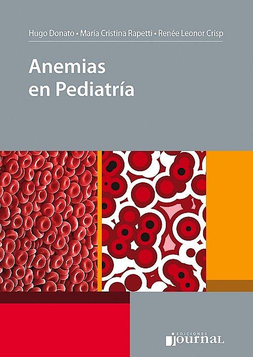 Portada del libro 9789871981229 Anemias en Pediatría