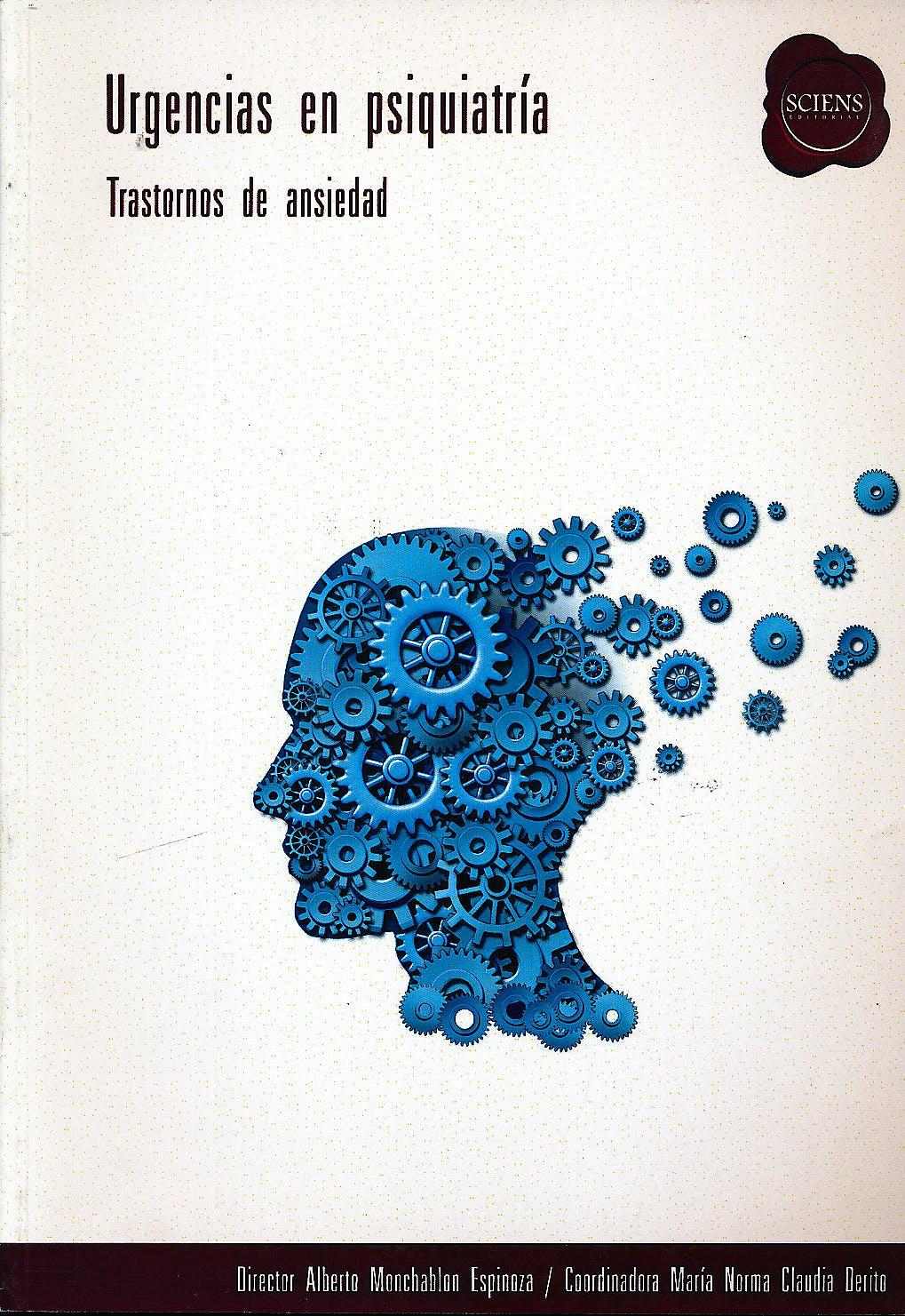 Portada del libro 9789872737061 Urgencias en Psiquiatria. Trastornos de Ansiedad
