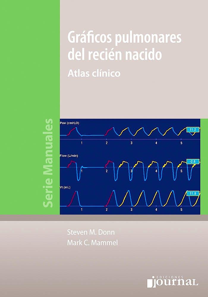 Portada del libro 9789873954238 Gráficos Pulmonares del Recién Nacido. Atlas Clínico