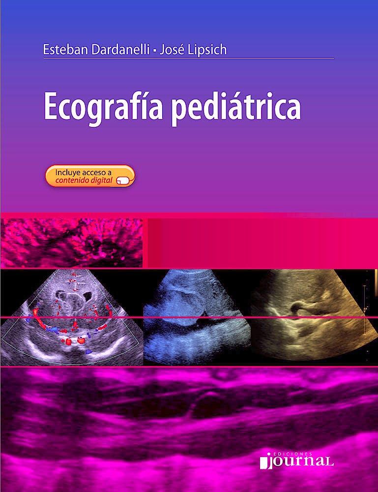 Portada del libro 9789873954528 Ecografía Pediátrica