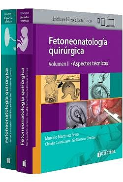 Portada del libro 9789873954870 Fetoneonatología Quirúrgica, 2 Vols. + E-Book