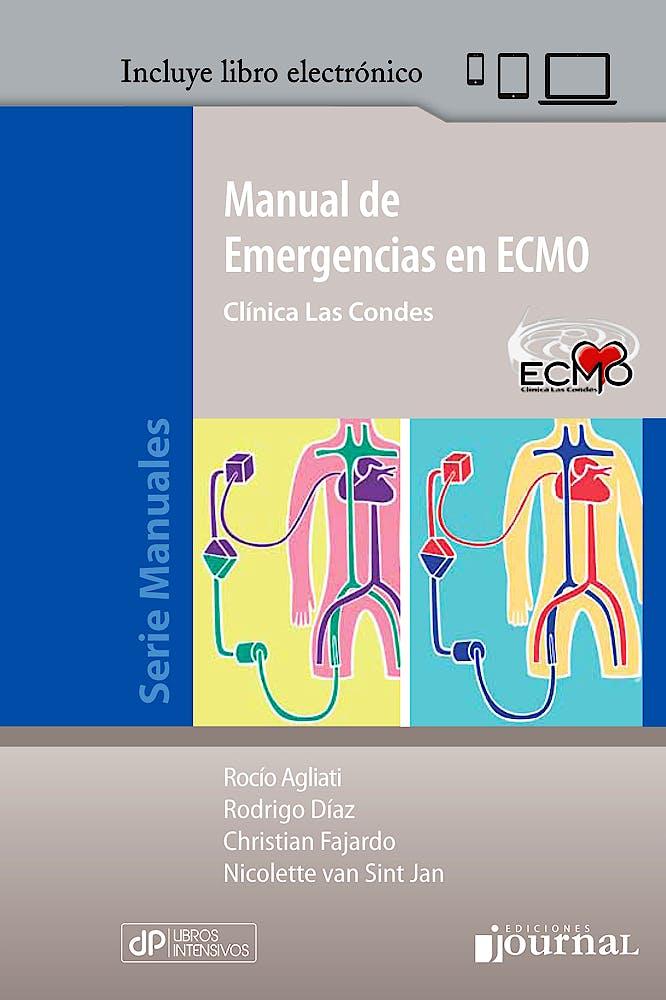 Portada del libro 9789873954900 Manual de Emergencias en ECMO. Clínica Las Condes + Libro Electrónico