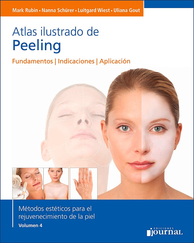 Portada del libro 9789873954917 Atlas Ilustrado de Peeling. Fundamentos, Indicaciones, Aplicación