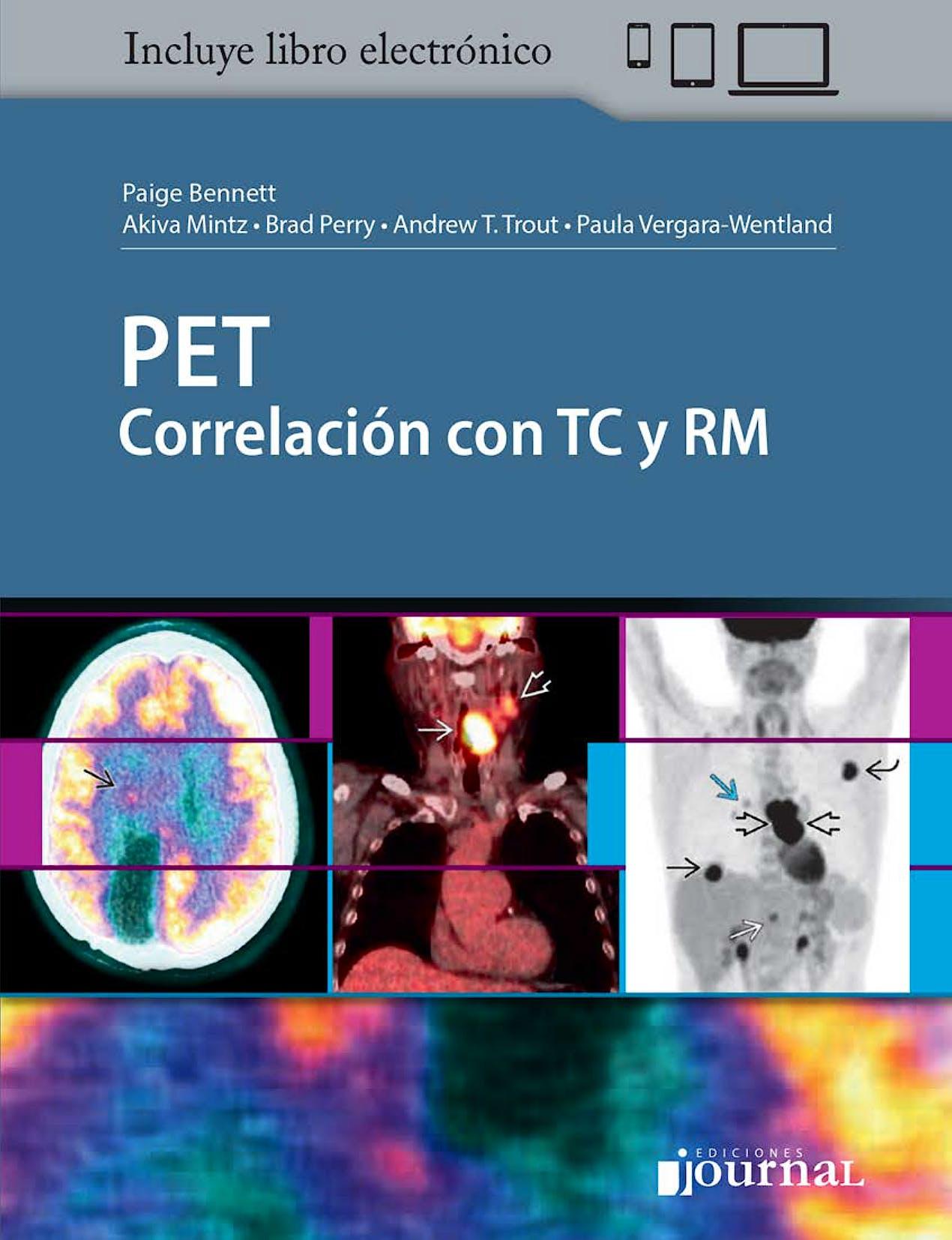Portada del libro 9789874922205 PET Correlación con TC y RM