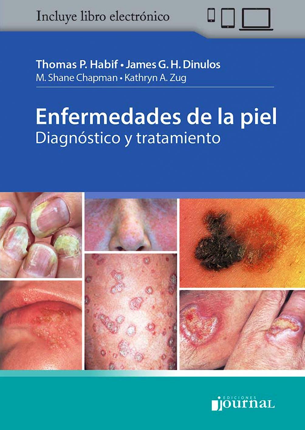 Portada del libro 9789874922212 Enfermedades de la Piel. Diagnóstico y Tratamiento
