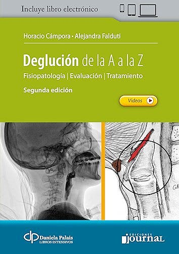 Portada del libro 9789874922366 Deglución de la A a la Z. Fisiopatología, Evaluación, Tratamiento