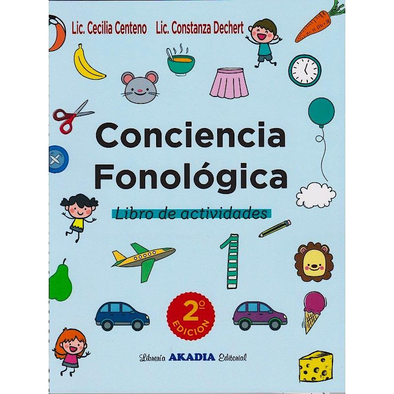 Portada del libro 9789875703568 Conciencia Fonológica. Libro de Actividades