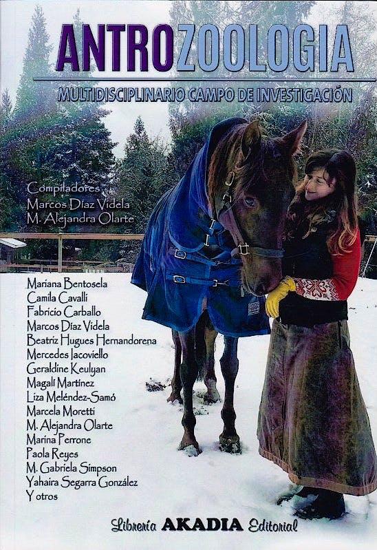 Portada del libro 9789875703780 Antrozoología. Multidisciplinario Campo de Investigación