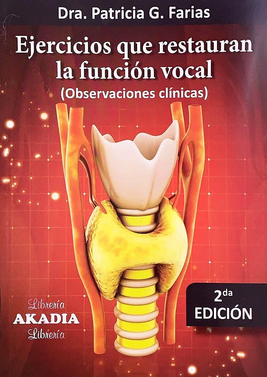 Portada del libro 9789875704336 Ejercicios que Restauran la Función Vocal. Observaciones Clínicas