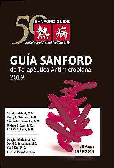 Portada del libro 9789876390590 Guía Sanford de Terapéutica Antimicrobiana 2019