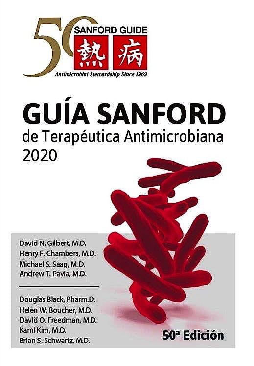 Portada del libro 9789876390620 Guía Sanford de Terapéutica Antimicrobiana 2020